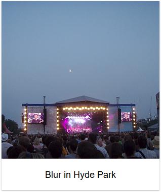 2009 - Blur in Hyde Park