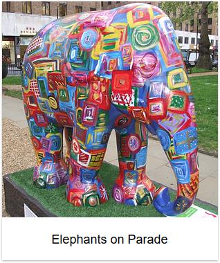 2010 - Elephants on Parade