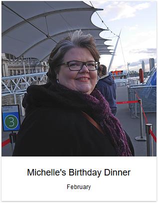 2015 - Michelle's Birthday Dinner