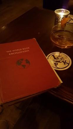 Peter Kern Library speakeasy bar @ The Oliver Hotel