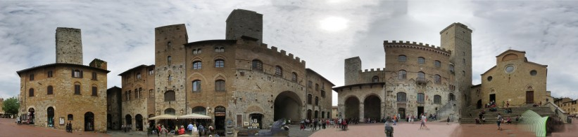 San Gimignano is full of towers
