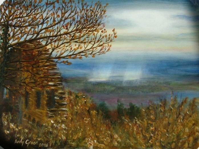 Alcase (40x30cm acrylic December 2004)