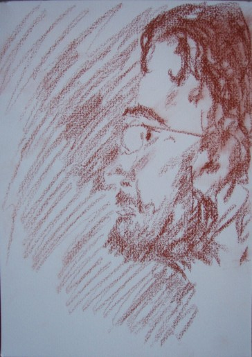 Andy by Michelle (21x30cm pencil drawing February 2010)