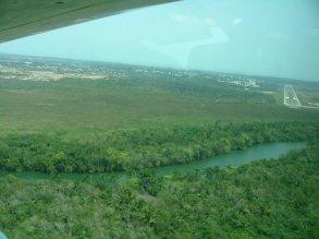 Flight from Belize City