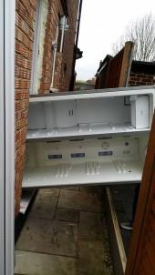 Sayonara, stupidly big fridge