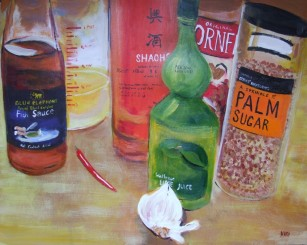 Thai Chili Sauce (40x30cm acrylic February 2010)
