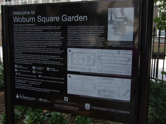 Woburn Square WC1
