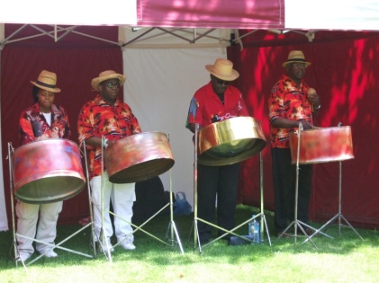 Excellent steel band.