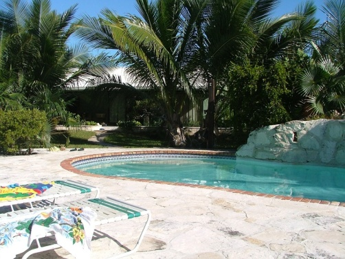 Spindrift is a private villa on Forbes Road near Coral Gardens.
