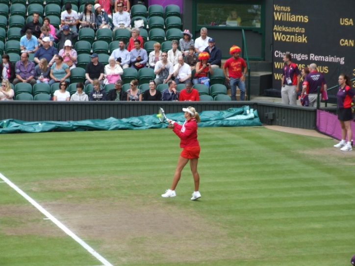 Second round Women's Singles match