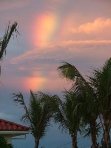 sunset/rainbow combo