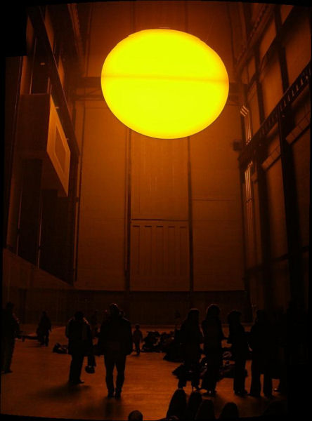 Sun installation at Tate Modern
