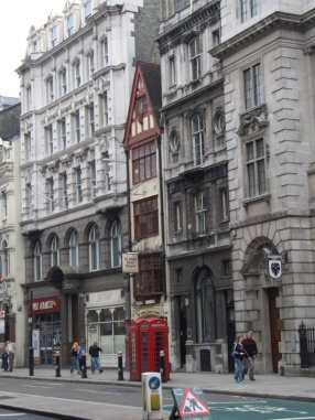 Inns on Fleet Street