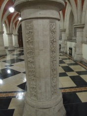 The masons carved extra detail in their spare time.