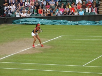 Robson v Sharapova, Second Round Women's Singles