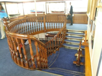 Staircase was added from another ship