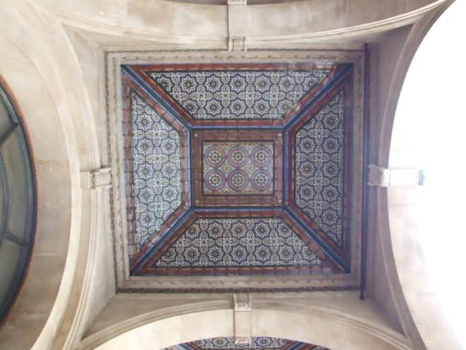 Another ceiling mosaic