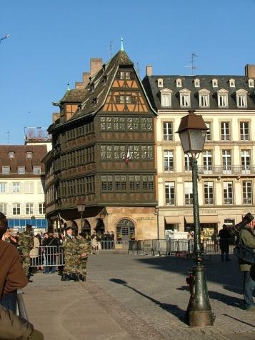 Maison Kammerzell in the Place de la Cathédrale.