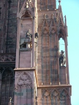 Detail of the cathedral - Notre Dame