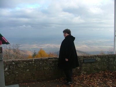 View from Koenigsbourg Castle
