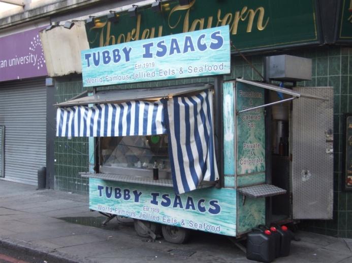 Tubby Isaacs jellied eels