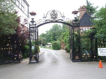 Grade-II-listed gates