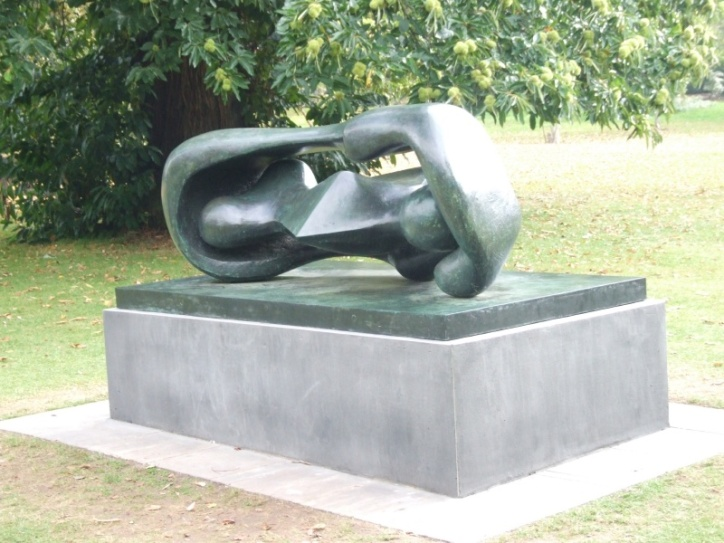 Reclining Connected Forms, 1969
