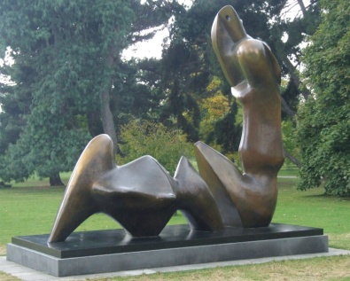 Two Piece Reclining Figure: Cut, 1979-81