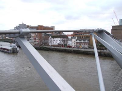 On the Millenium Footbridge