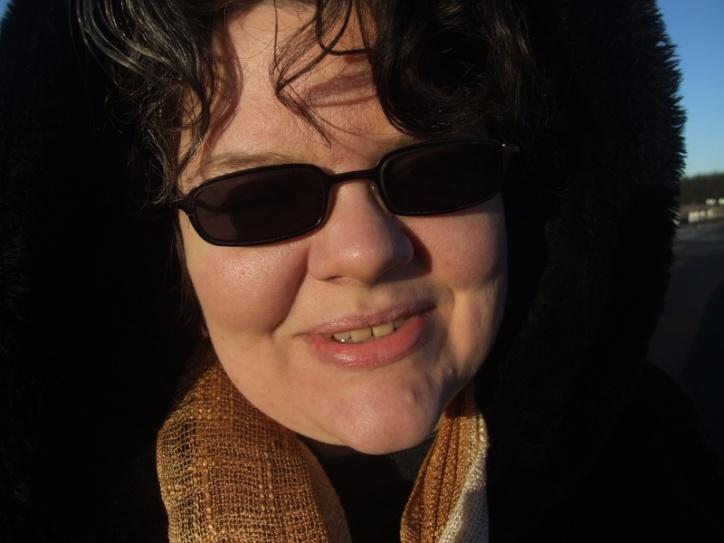 so we had to wear shades