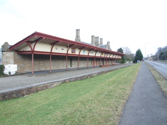 Melrose railway station