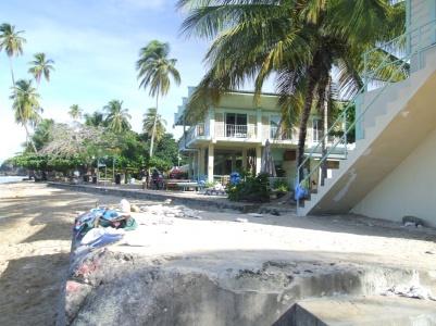 a beach bar