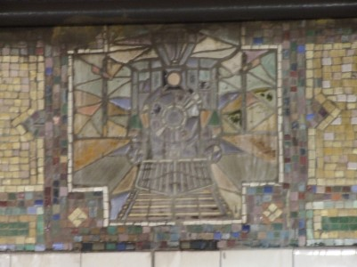 Tiles in subway station