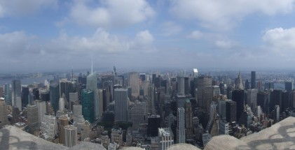 Uptown from Empire State Building