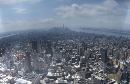Downtown from Empire State Building
