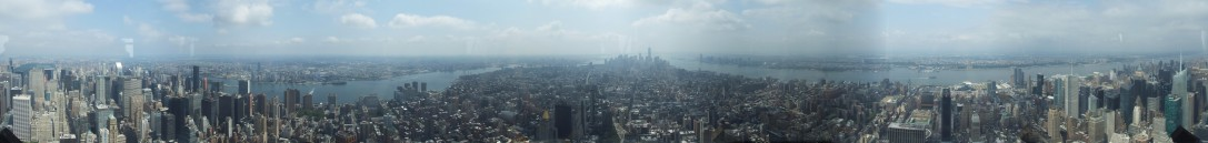 360 pano from Empire State Building