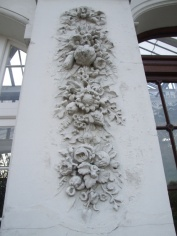 Detail on the Temperate House