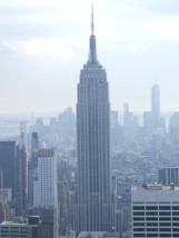 Empire State Building from the Rockefeller Center