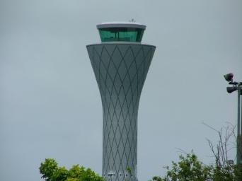 Right next door to Edinburgh airport