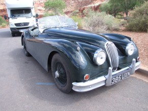 An old Jag