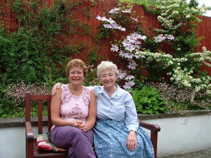 Janis and Mum