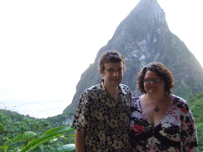 Dasheen is noted for the stunning view from between the Pitons.