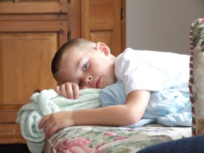 JT sleeps with one eye open