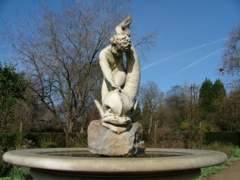 Lewis Carroll tried to convince the boy who posed for this scupture that he should take the opportunity to have his head replaced with a marble one. The boy turned to his sister and said, 'Do you hear that Mary? It wouldn't need combing!'