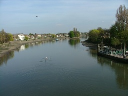 View from Kew Bridge