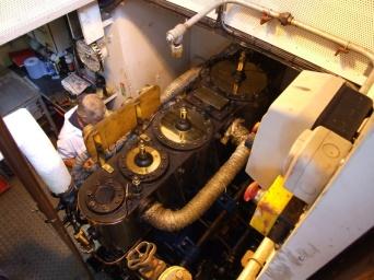 100 year old steam engine