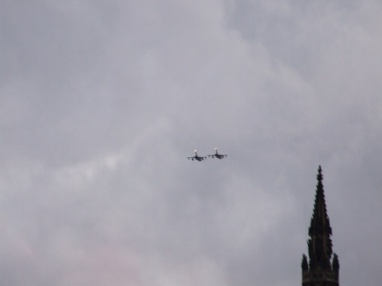 Fly-past