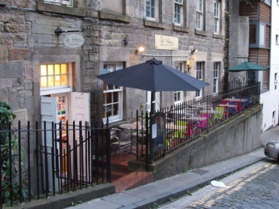 Our last night in Edinburgh we had a fabulous meal in the Cafe Marlayne