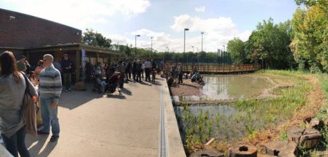 Paddington Recreation Ground - Environmental Area.