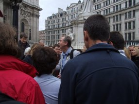 Guided tour of Fleet Street area from St. Pauls